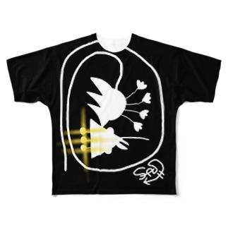トリッキーくん Full graphic T-shirts