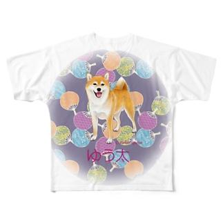 ゆう太くん(うちわ) フルグラフィックTシャツ