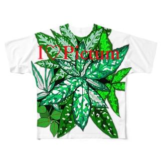 I♡Pictum Full graphic T-shirts