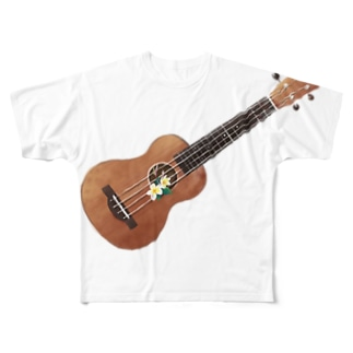 Old ukulele Full graphic T-shirts