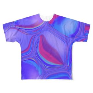 石と火 Full graphic T-shirts