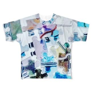 パズル Full graphic T-shirts