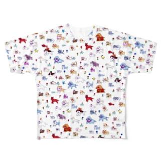 総いぬT Full graphic T-shirts