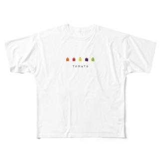 OYASAI_とまと Full Graphic T-Shirt