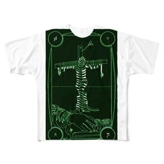アタナシウス柵07 アダム・カドモン Full graphic T-shirts