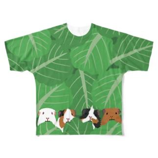 モルモルもぐもぐタイム S/M Full graphic T-shirts