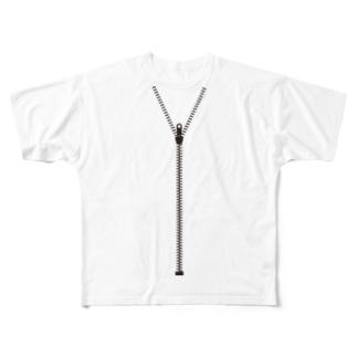ジップアップ! Full graphic T-shirts