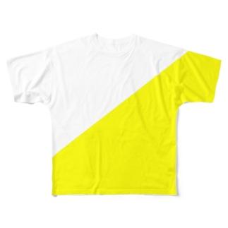 YELLOW Full graphic T-shirts
