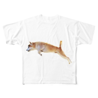 俊敏なコロッケ Full graphic T-shirts