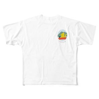 下妻FREEpER発行応援グッズ Full graphic T-shirts