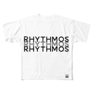 rhythmosT ( フルT ) Full graphic T-shirts
