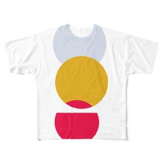 オリンピック バイカラー Full graphic T-shirts