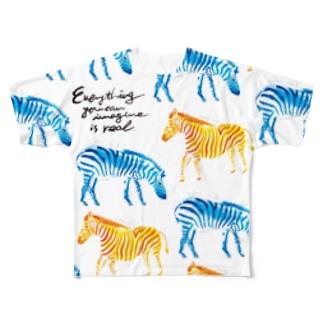 zebra Full graphic T-shirts