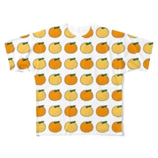 みかん&ゆず Full Graphic T-Shirt