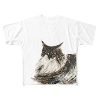 ミシェルくん Full graphic T-shirts