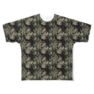 Hartman Warface Camo Full graphic T-shirts