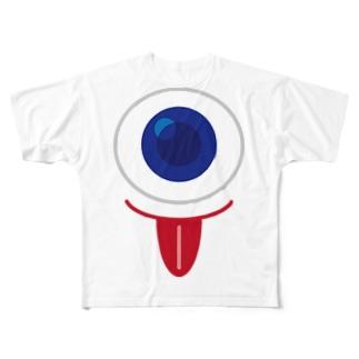 一つ目小僧 Full graphic T-shirts