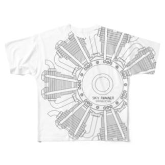 SKY RUNNER 2017 _W2 Full graphic T-shirts