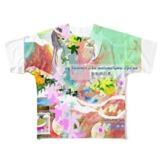 335★月山いつこ作品●羽和■夏海野★Hime15  Full graphic T-shirts