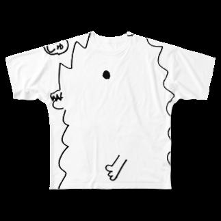 宮澤寿梨のじゅ印良品の【通常価格】Tシャツ 半じゅじら カラー白のみ フルグラフィックTシャツ