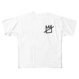 ストリート系ファッション Full graphic T-shirts