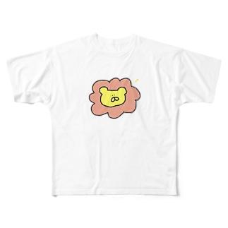 ライオンガオーバイカラーver. Full Graphic T-Shirt