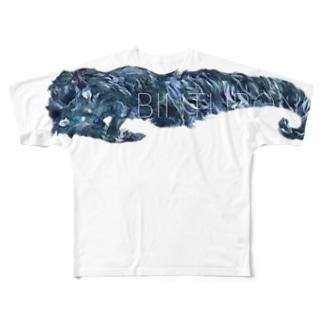 BINTURONG フルグラフィックTシャツ