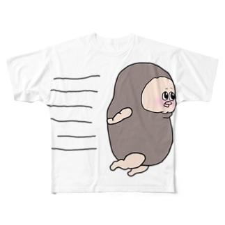 ビッグまむだん君 Full graphic T-shirts