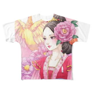 鳳凰女子 Full graphic T-shirts