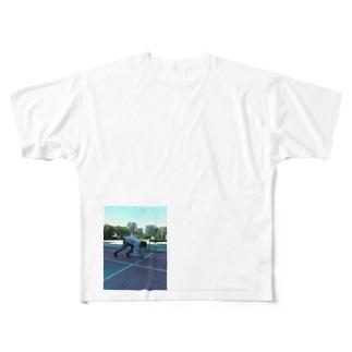 俺のクラウチングスタート Full graphic T-shirts