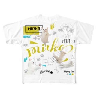 ミルコ(フルグラフィックTシャツ) Full graphic T-shirts