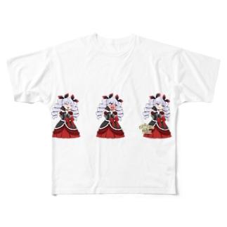 Nenetのエレーナさまデレる。 Full graphic T-shirts
