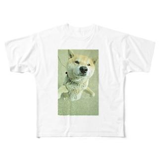 柴犬ライチ② Full graphic T-shirts