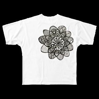 PEAPICAN EMICAのカラフル フルグラフィックTシャツ