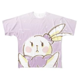 うさぎのミミ・メルシュ Full graphic T-shirts