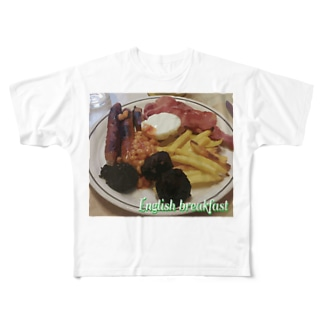 English breakfast Full graphic T-shirts