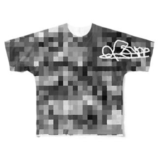 mosaic フルグラフィックTシャツ