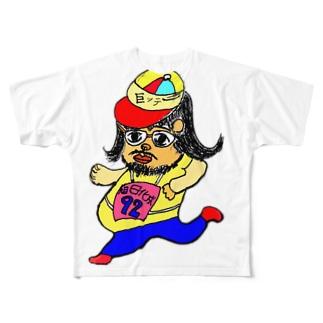 うんどうだいすき Full graphic T-shirts