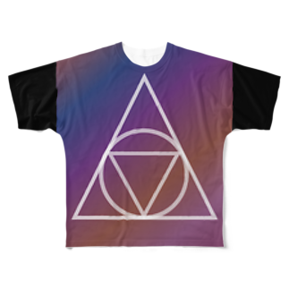 GAKU style のGRAD TE:1 Full graphic T-shirts