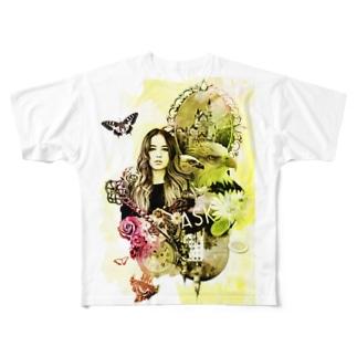 ナタリー Full graphic T-shirts