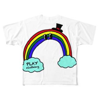 PLAY clothingのRAINBOW S ① Full graphic T-shirts
