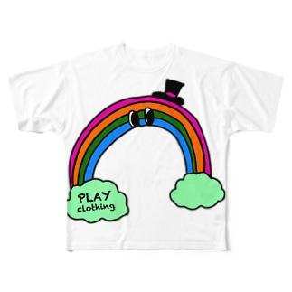 PLAY clothingのRAINBOW O ① Full graphic T-shirts