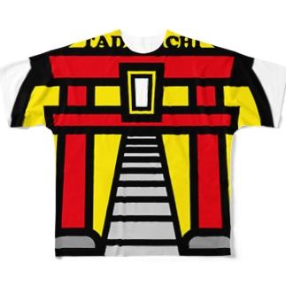 パ紋No.3208 TADAMICHI Full graphic T-shirts