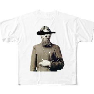 怪僧 Full graphic T-shirts