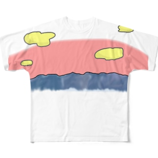 我らが赤城山 Full graphic T-shirts