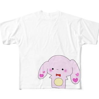 うさもち。 Full graphic T-shirts