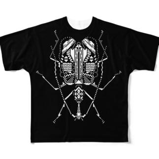 バイオリン虫 フルグラフィックTシャツ