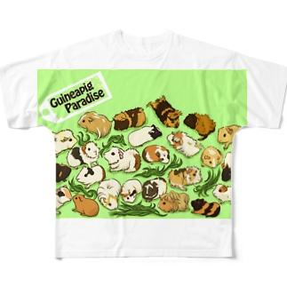 モルモットパラダイス2 フルグラフィックTシャツ