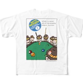HATTOSHITE BOYS フルグラフィックTシャツ