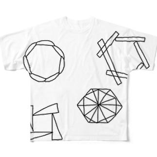 KYASHA フルグラフィックTシャツ